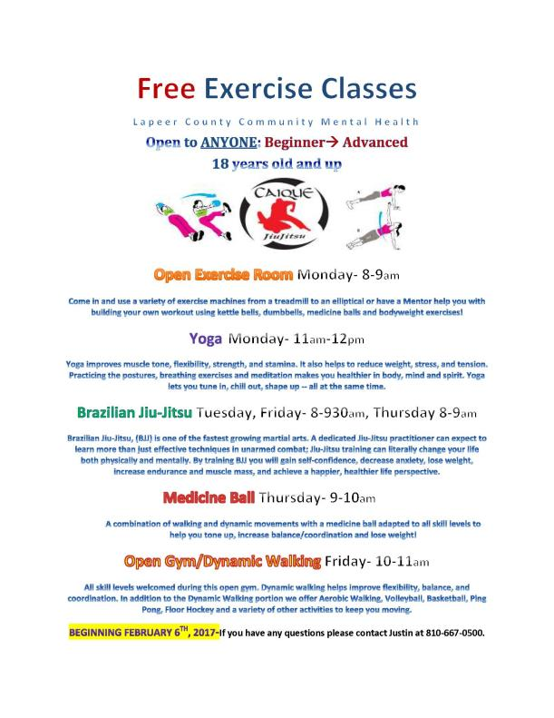 Free Workout Classes 2.17